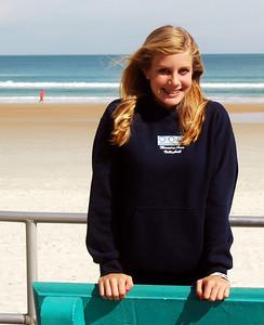 18 Volleyball teen girls at Daytona Beach
