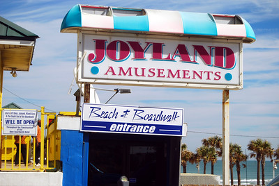 24 Daytona Beach Arcade Entrance