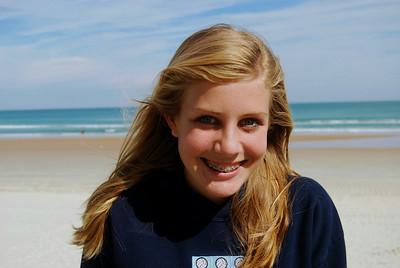 19 Volleyball teen girls at Daytona Beach