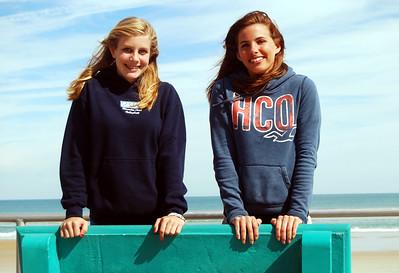 16 Volleyball teen girls at Daytona Beach