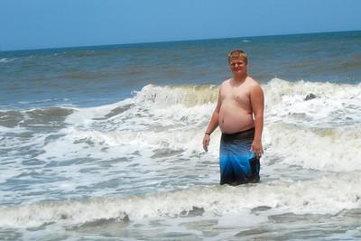 046 Bradley in the surf