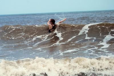 011 Rachel in the surf