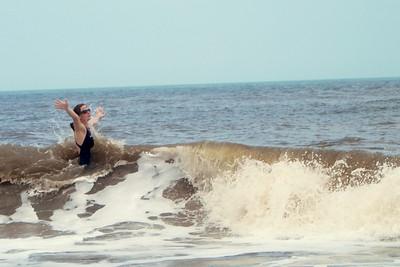007 Rachel in the surf