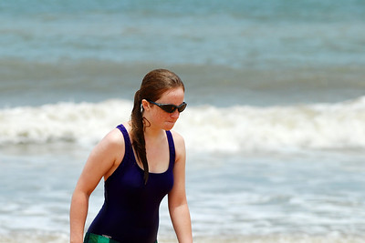 035 Rachel coming in for a towel