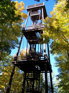 Observation tower in Potawatomi State Park, Sturgeon Bay.