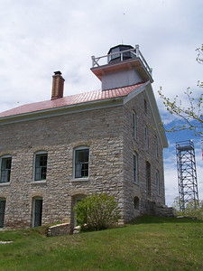 Pottowatomie Lighthouse on Rock Island