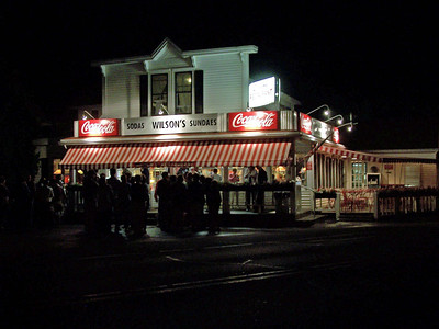 Wilson's Ice Cream Parlor in Ephraim is a Door County favorite, any time of day.