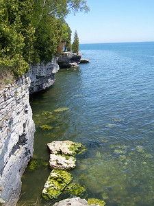 Cave Point is one of Door County's most photographed and painted spots.