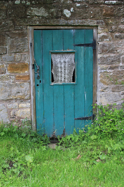 Hadrian's Wall Hiking Trekking Joan Perry doors