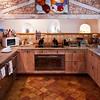 Kitchen, La Truffiere.