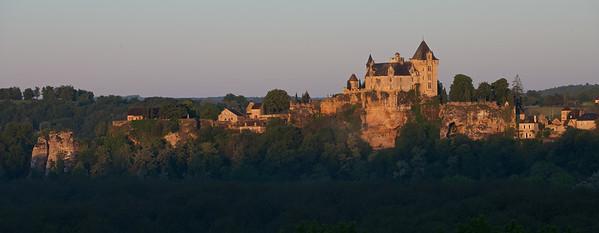 Montfort Sunrise:  Montfort Castle.