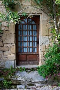 Ancient Door in the small town of La Roque Gageac