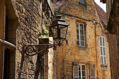 Sarlat Lantern and Stone buildings