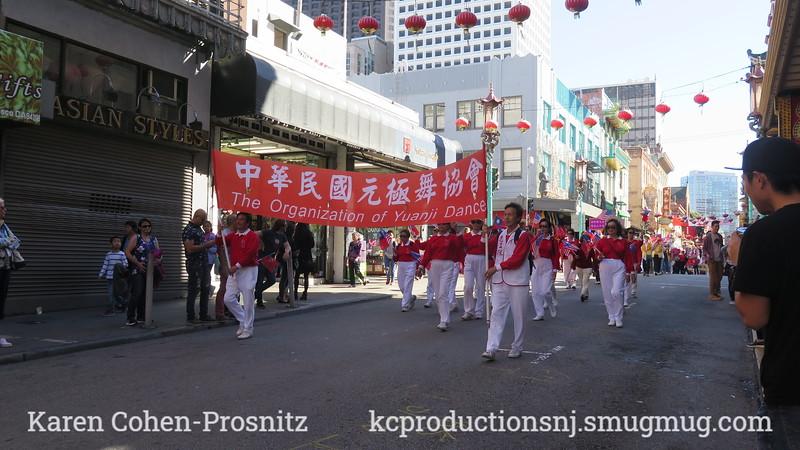 Double Ten Celebration Parade of San Francisco