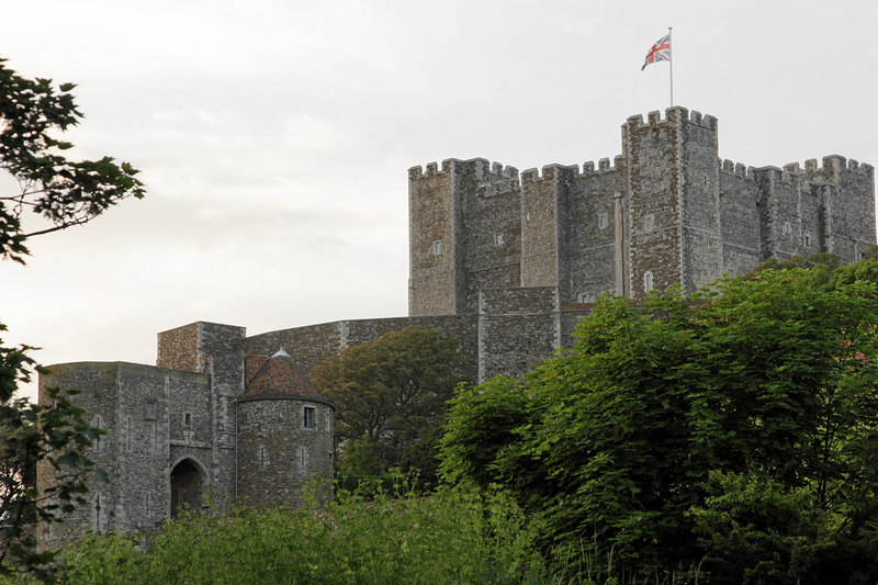 The Dover Castle is huge but the biggest and best part is what's underground that they don't let you photograph: the miles of tunnels with hospitals, mess halls, and command quarters that played such a vital role in military history.