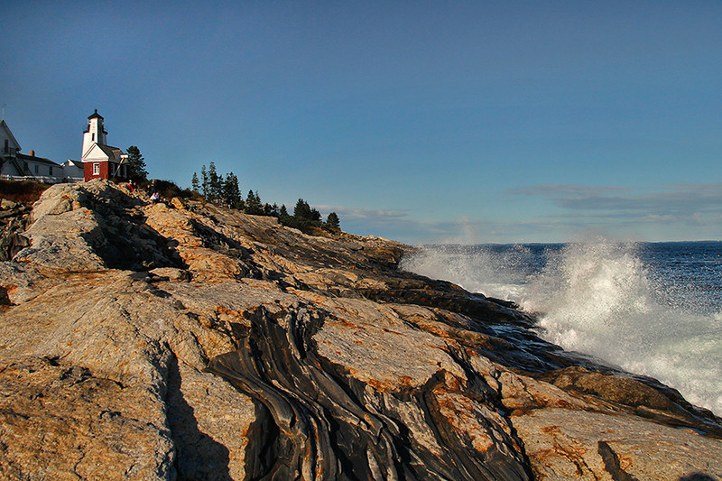 Raging Surf at Pemaquid Point