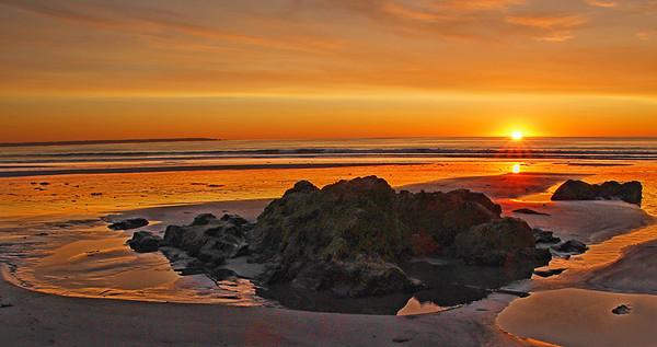 Sunrise Over the Gulf of Maine
