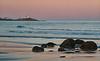 Nubble Light from York Beach at Dusk
