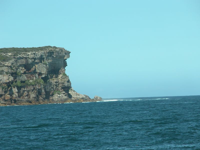 The Head.  The entrance of the Sydney Harbour.