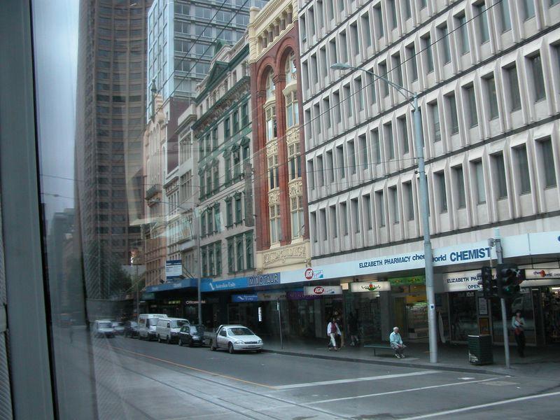 City tour of Melbourne