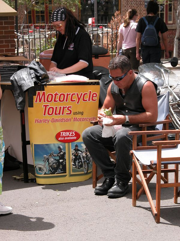 You can tour Sydney on a Harley if you want.