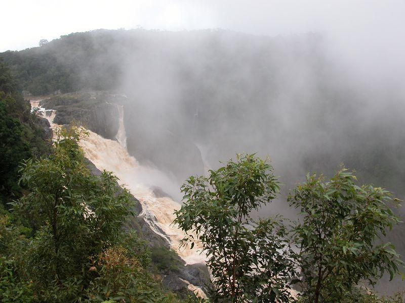 The Kuranda falls