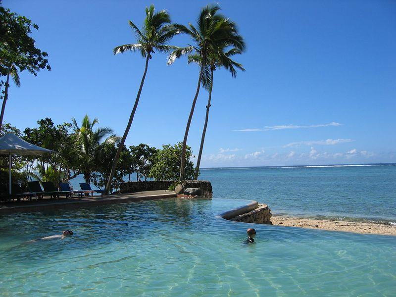 Pool at Shangra La Resort