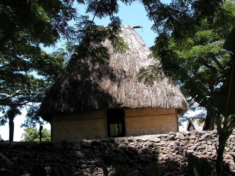 At the Fijian Cultural Center.