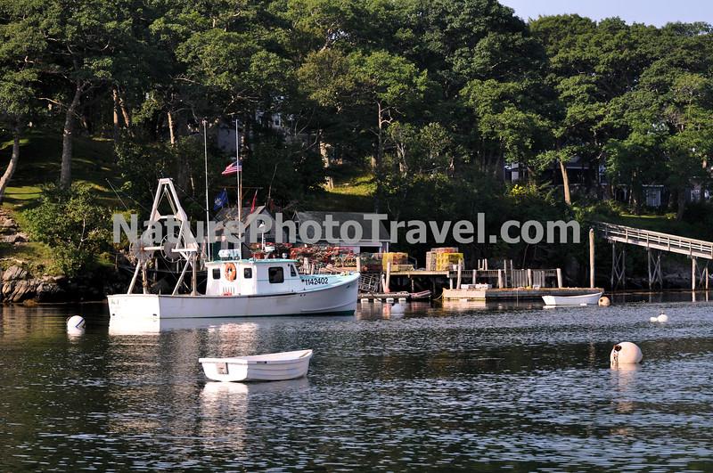 In Port. New Harbor, ME