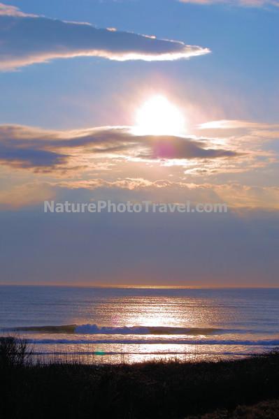 Sunrise over Coast Guard Beach, Cape Cod (Eastham), MA