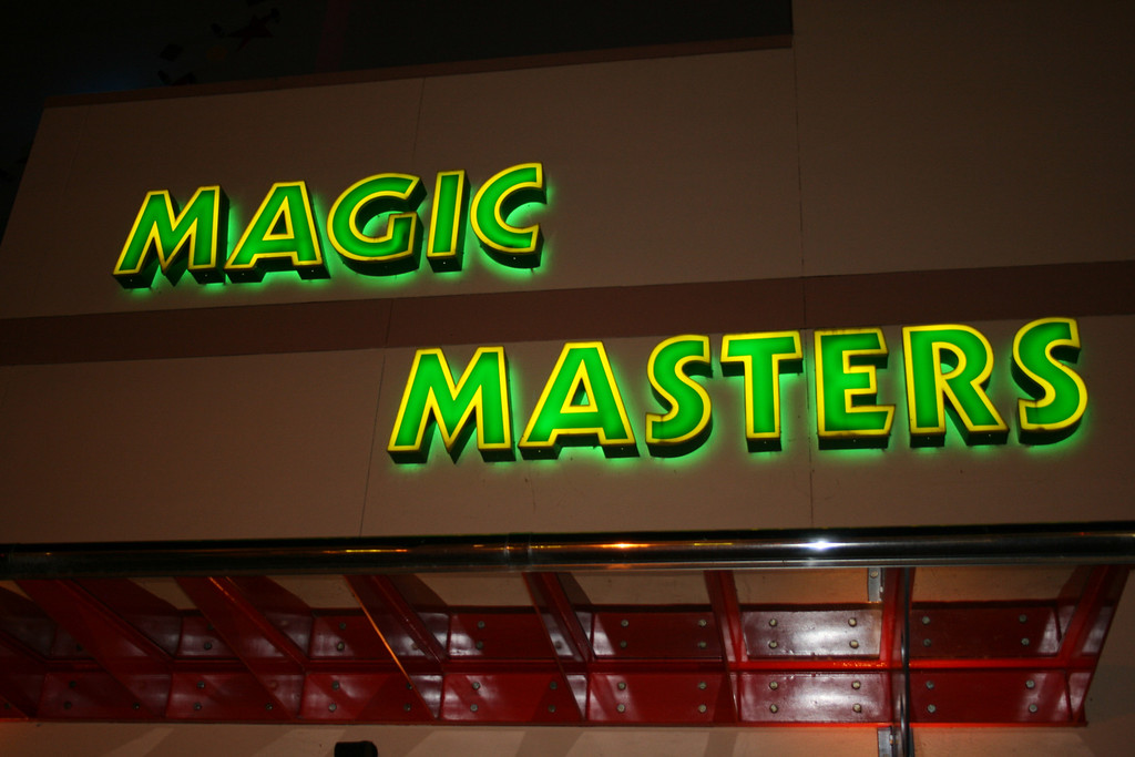 This is a great Magic shop (a hobby of mine) in Downtown Disney