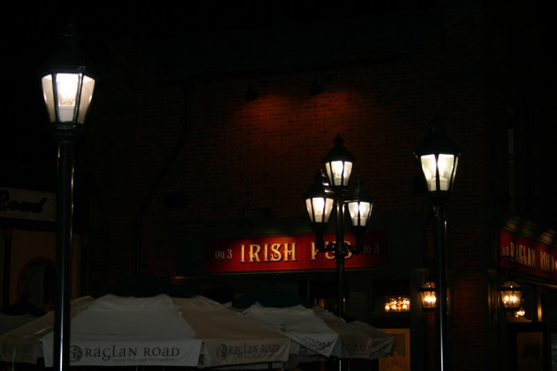 A reproduction of an Irish Pub, Raglan Road, in Pleasure Island