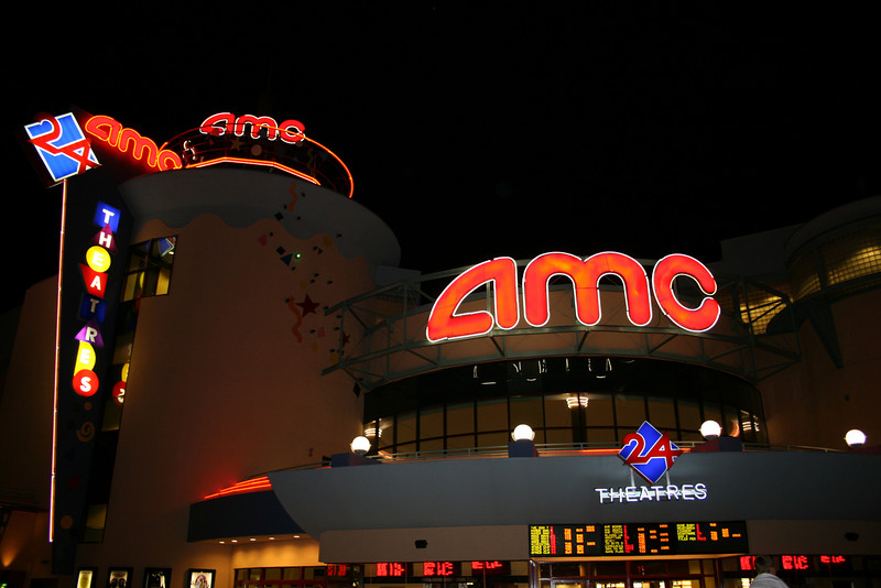 This is a huge AMC Movie theater located in Downtown Disney.