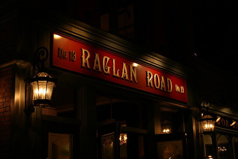 The front of the Ragliin Road Irish Pub.