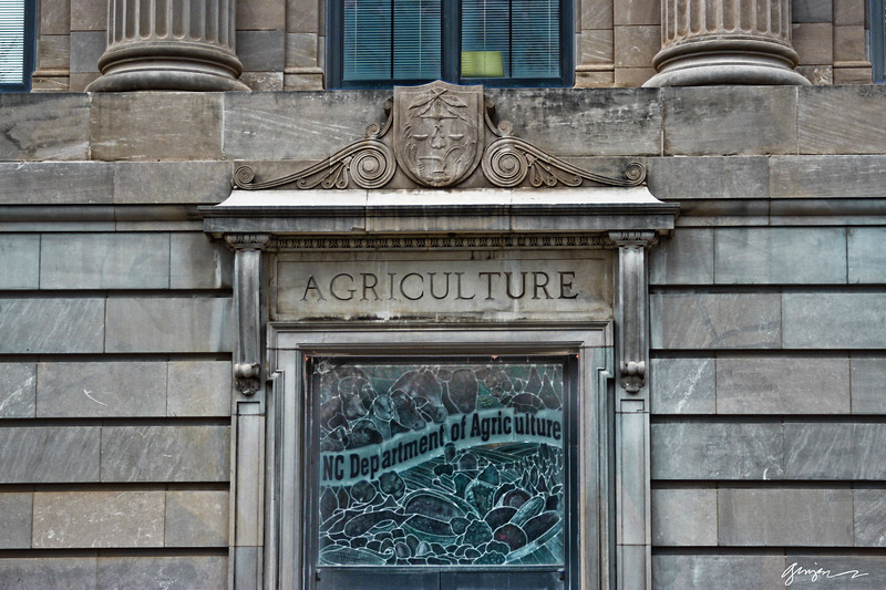 NC Department of Agriculture building in downtown Raleigh, NC