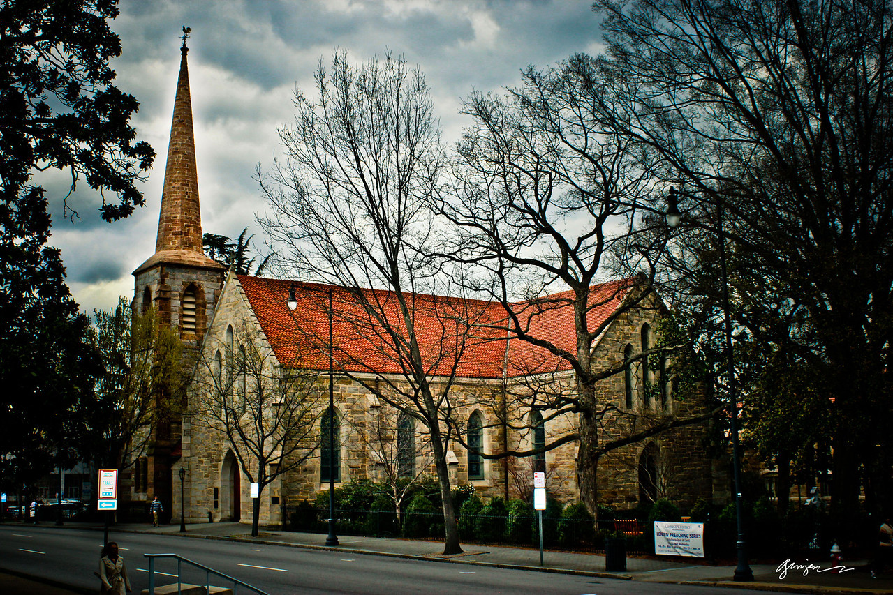 Christ Church in downtown Raleigh, NC