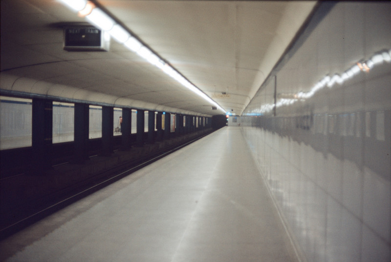 Queen Subway Station Aug72
