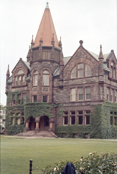 Academic Building Victoria University Aug72
