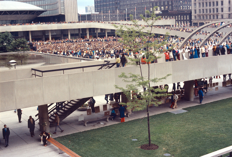 Nathan Philips Square close up Aug 72