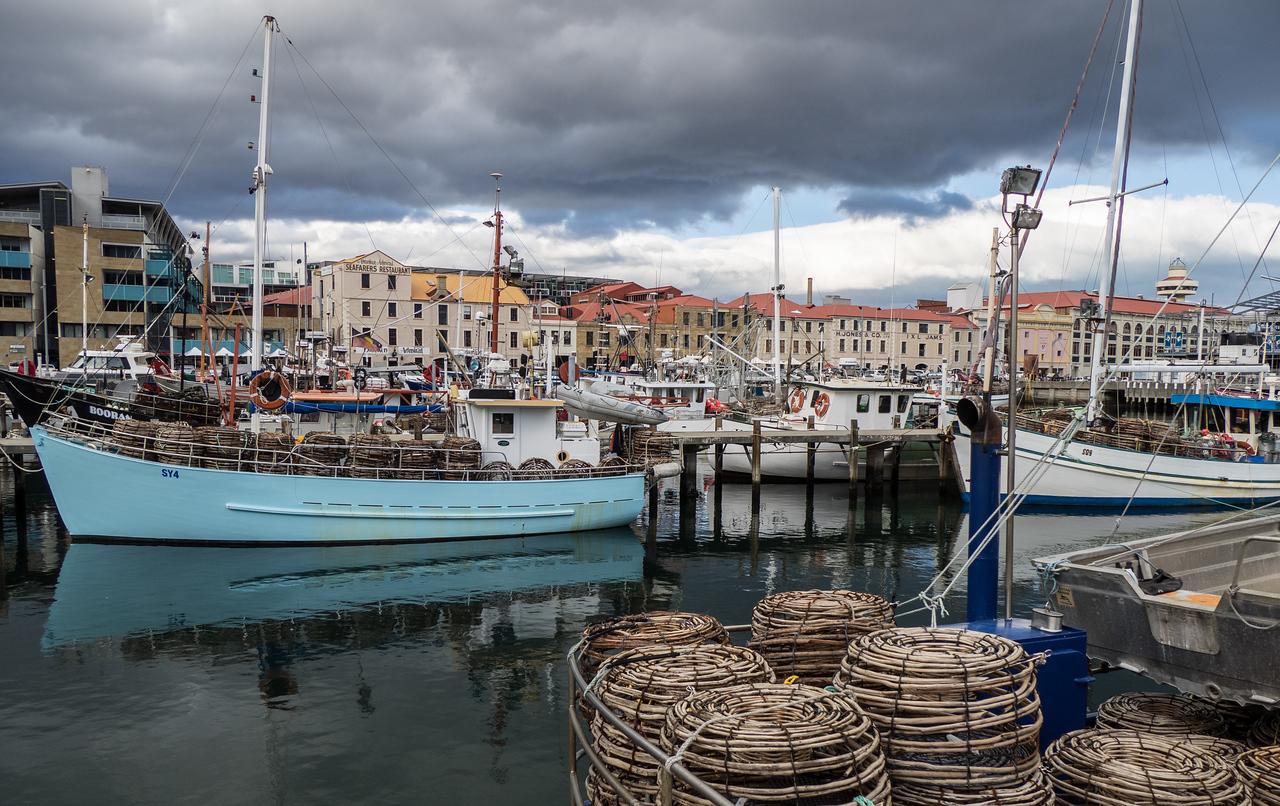 Hobart Fishing Harbor