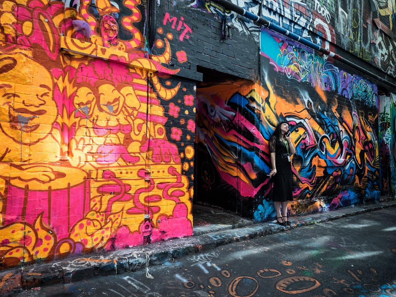 Graffiti Art Street, Melbourne