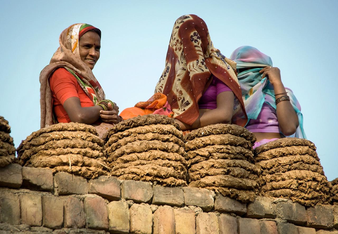 Village Women Near Bharatpur
