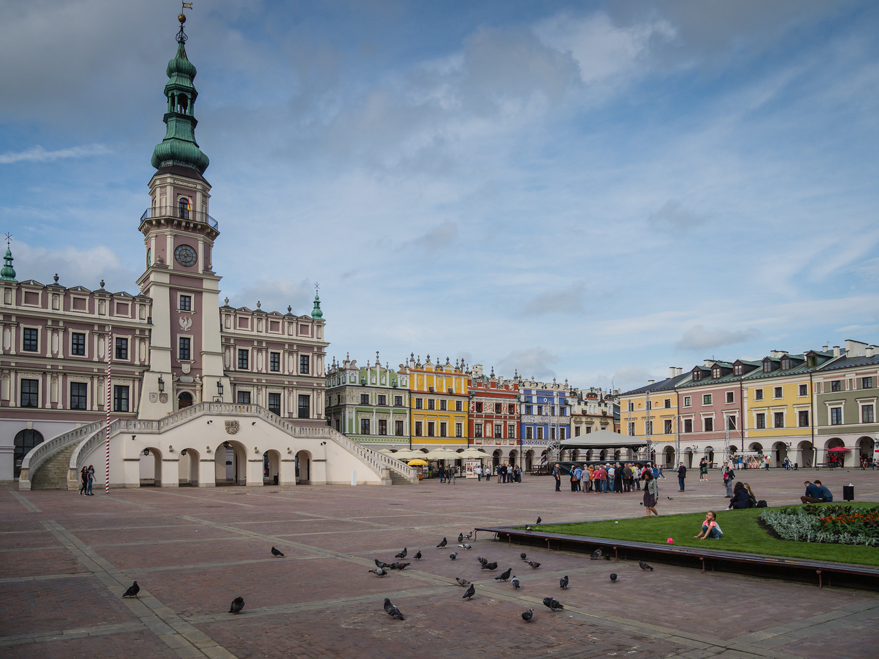 Zamosc Founded by Jan Zamoyski in 1580