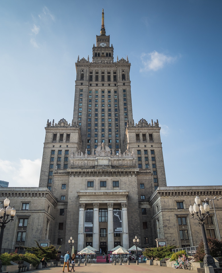 Soviet Palace of Culture and Science (1955), Warsaw