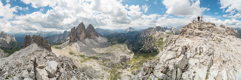 Panorama vom Paternkofel