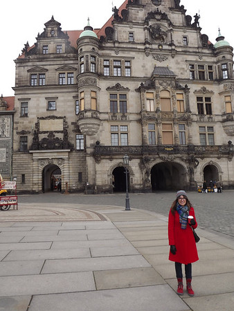 Dresden, Germany - December, 2013
