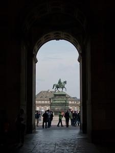 Monument to King Johann