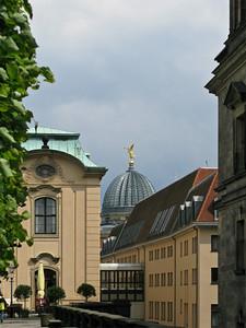 Altstadt. Dome of the Academy of Arts.