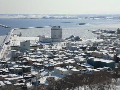 drift ice in Wakkanai 2012