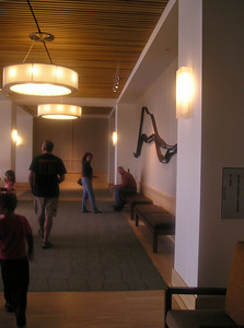 The lobby was spacious and also came equipped with sis and bro-in-law. Waiting again.